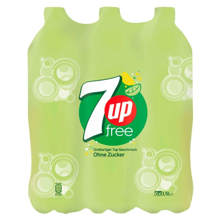 7Up Free 6x1,5l
