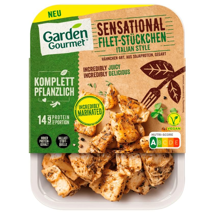 Garden Gourmet Sensational Filet Stückchen Italian Style vegan 160g