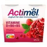 Danone Actimel Joghurt Himbeere-Granatapfel 4x115g