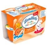 Landliebe Lecker Schmecker Joghurt Pfirsich-Aprikose 4x125g