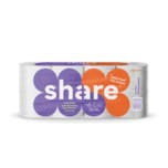 share Toilettenpapier Recycling 3-lagig 8x150 Blatt