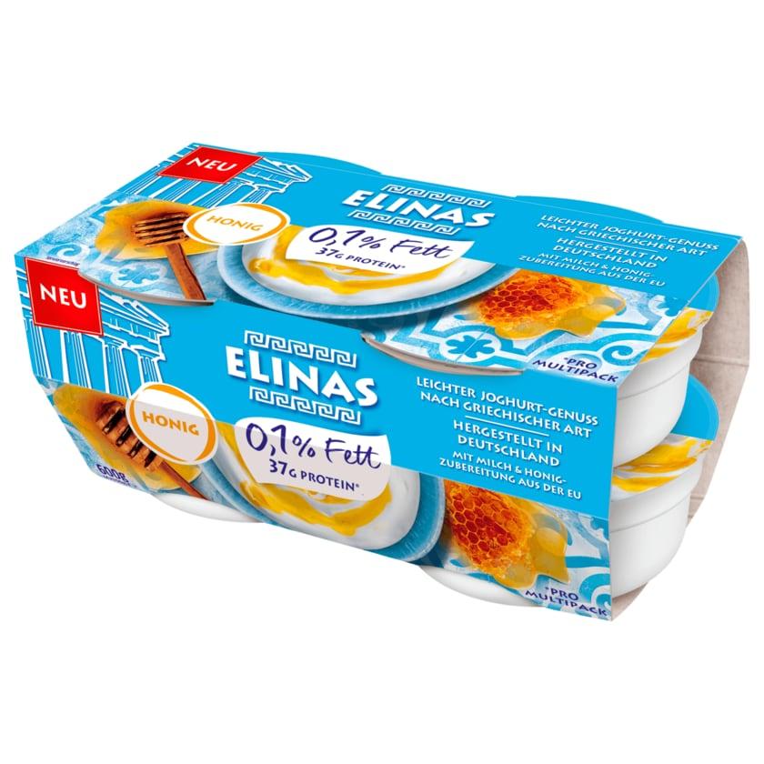 Elinas Leichter Joghurt Griechischer Art Honig 4x150g