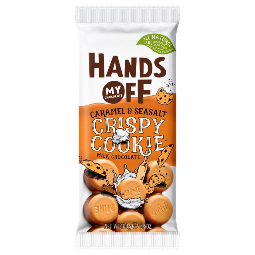 Hands Off My Chocolate Caramel & Seasalt Crispy Cookie 100g