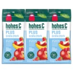 Hohes C plus Groß & Stark Apfel, Himbeere, Banane 3x0,2l