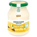 Andechser Natur demeter Jogurt mild Vanille 3,8% 500g