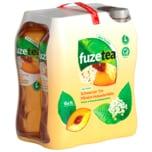 Fuze Tea Schwarzer Tee Pfirsisch Holunderblüte 6x1l
