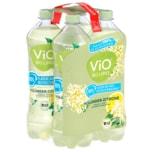 Vio Bio Limo Holunder-Zitrone 4x1l
