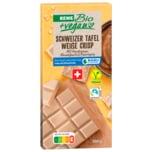 REWE Bio + vegan Schokolade Nougat & Crisp 100g