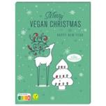 REWE Adventskalender Merry Vegan Christmas Weihnachten vegan 75g