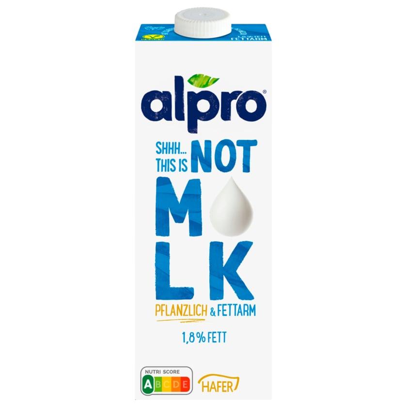 Alpro Not Mlk Haferdrink 1,8% vegan 1l