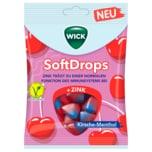 Wick Softdrops Kirsche-Menthol vegetarisch 90g