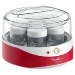 Moulinex Joghurtbereiter Yogurteo Weiß/Rot 7 Gläser