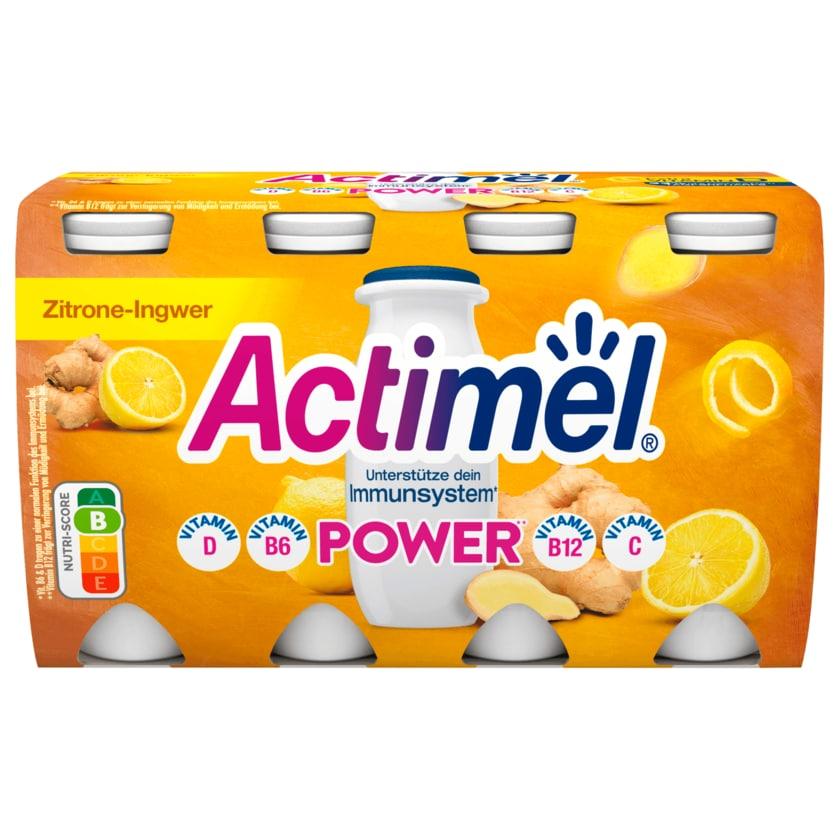 Danone Actimel Power Zitrone-Ingwer 8x100g
