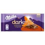 Milka Dark Milk Schokolade Gesalzenes Karamell 85g
