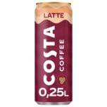 Costa Coffee Kaffeegetränk Latte 0,25l
