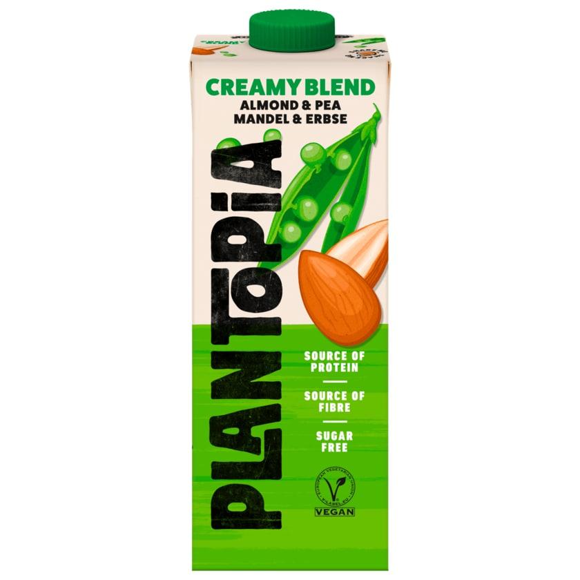 Plantopia Creamy Blend Vegan Mandel & Erbse Drink 1l