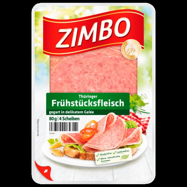 Zimbo Thüringer Frühstücksfleisch 80g