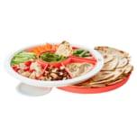 Tupperware Snack-Runde Tablett-Set