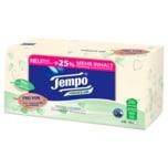 Tempo Taschentücher Natural & Soft Box 4-lagig, 90 Stück