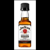 Jim Beam White Bourbon Whiskey 40% 0,05l