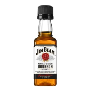 Jim Beam White Bourbon Whiskey 40% 0,05l