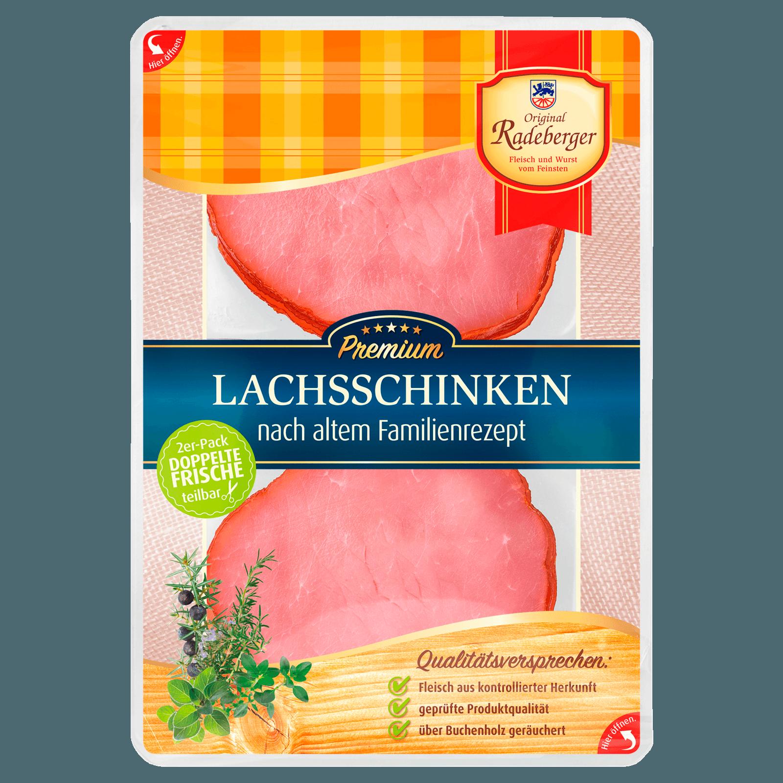 Radeberger Lachsschinken 150g