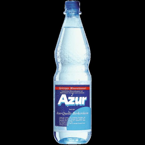Azur Mineralwasser Spritzig 1l