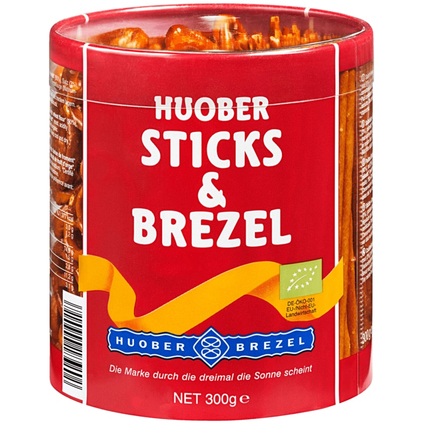 Huober Bio Sticks & Brezel 300g