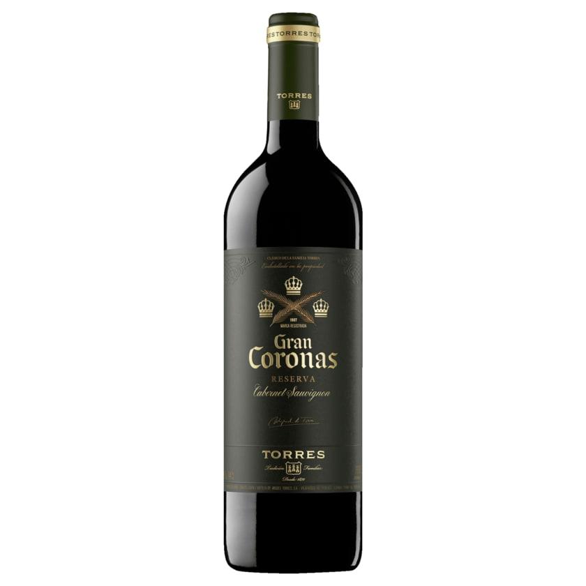 Torres Gran Coronas Reserva Rotwein Cabernt Sauvignon DO trocken 0,75l