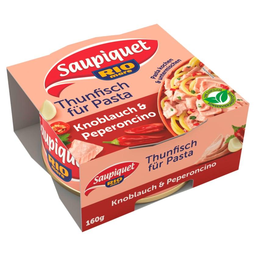 Saupiquet Thunfisch per Pasta Knoblauch & Peperoncino 160g