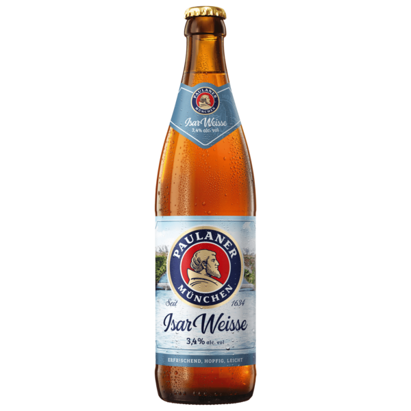 Paulaner Hefe-Weißbier leicht 0,5l