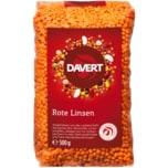 Davert Bio Rote Linsen 500g