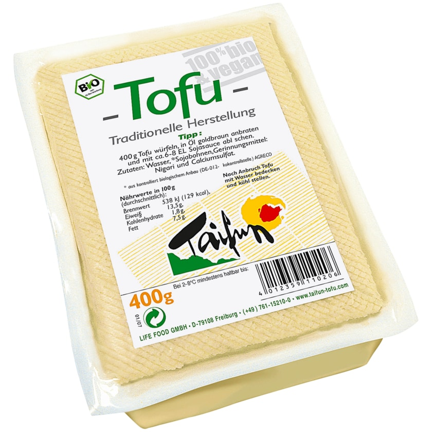 Taifun Bio Tofu vegan 400g