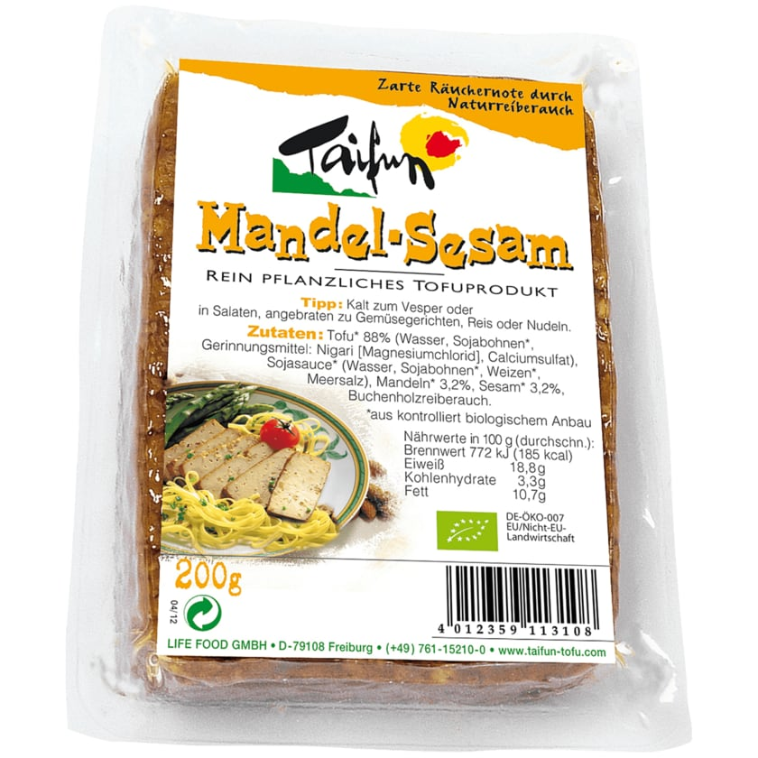 Taifun Bio Mandel-Sesam vegan 200g