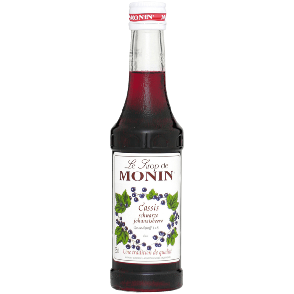Monin Sirup Cassis 0,25l