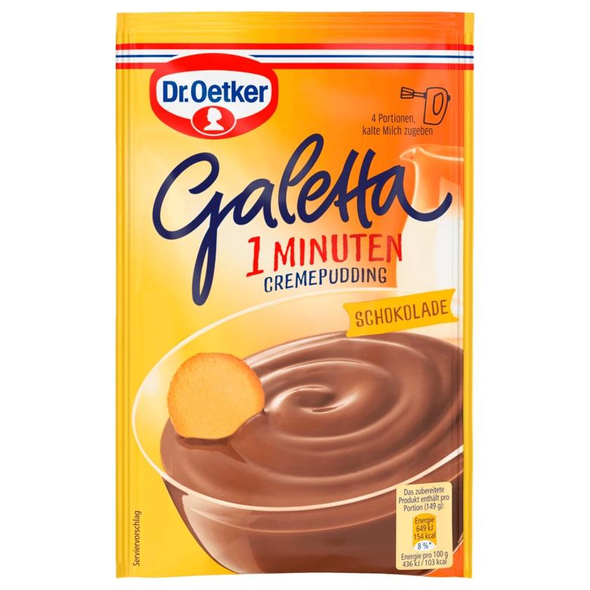 Dr. Oetker Galetta Schokolade 99g