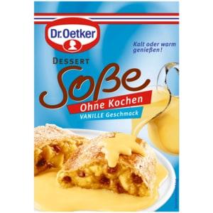 Dr. Oetker Soße ohne Kochen Vanille-Geschmack 39g
