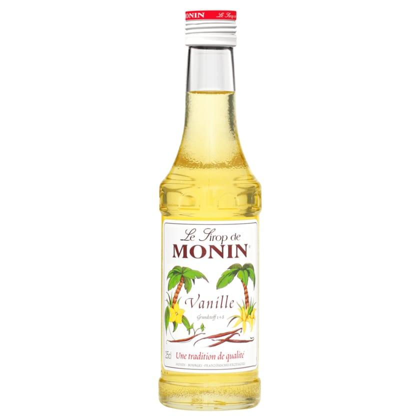 Monin Sirup Vanille 0,25l
