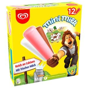 Mini Milk Familienpackung Langnese Eis 12x35ml