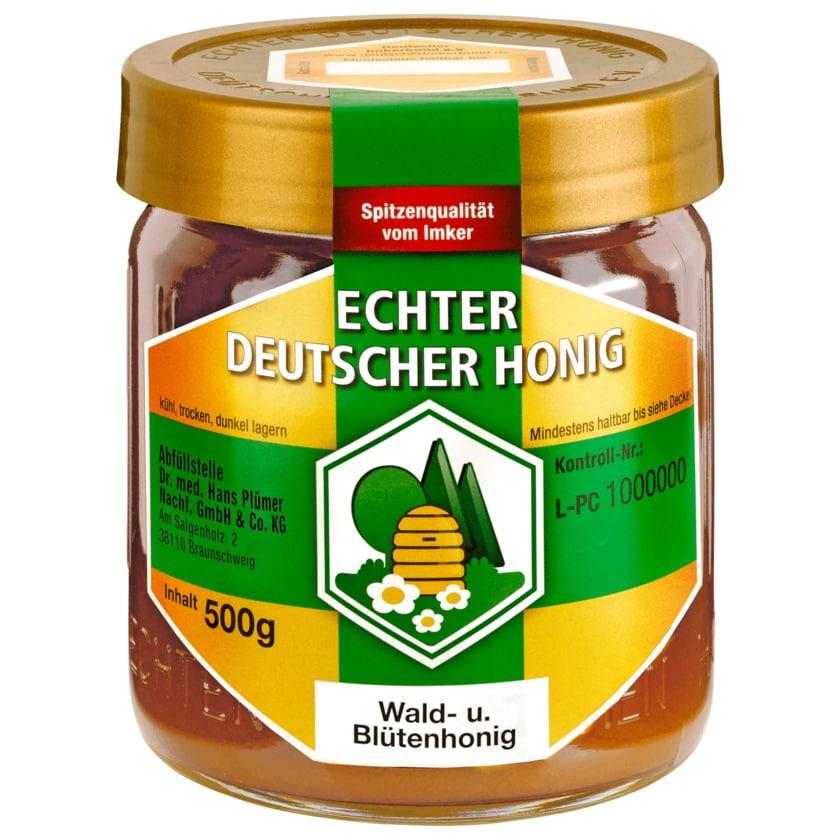 Bihophar Echter Deutscher Honig Wald- und Blütenhonig 500g