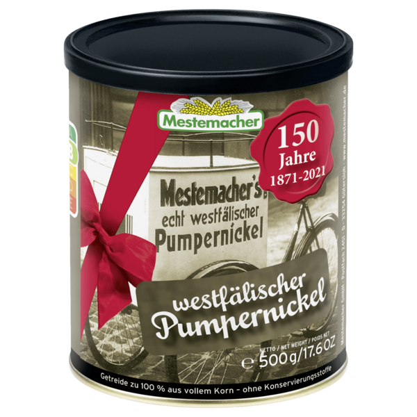 Mestemacher Pumpernickel 500g
