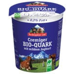 Berchtesgadener Land Bio Cremiger Quark 0,2% 350g