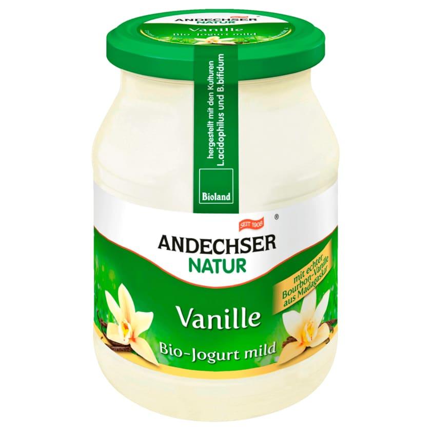 Andechser Natur Bio Joghurt mild Vanille 500g