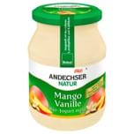 Andechser Natur Bio Joghurt mild Vanille-Mango 500g