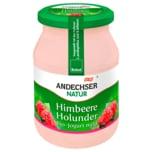 Andechser Natur Bio Joghurt mild Himbeere-Holunder 500g