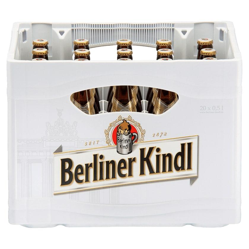 Berliner Kindl Bock Hell 20x0,5l