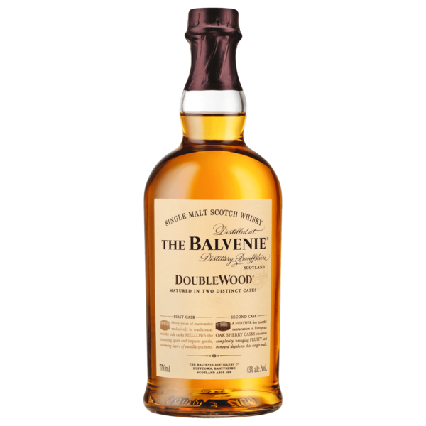 The Balvenie Doublewood 12 Years Single Malt Scotch Whisky 0,7l