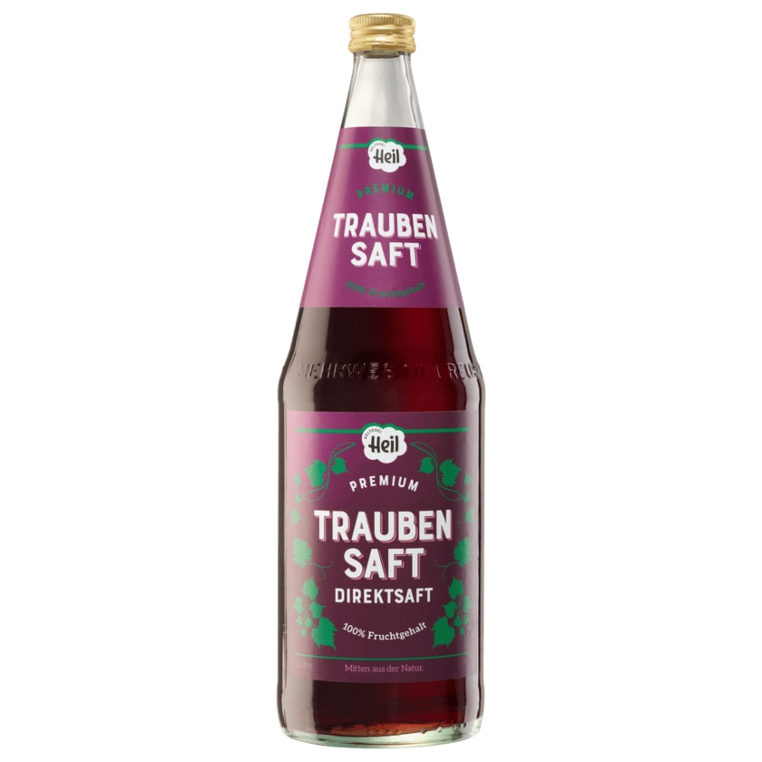 Heil Premium Traubensaft 1l