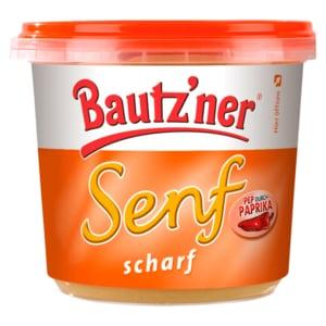 Bautz'ner Senf scharf 200ml