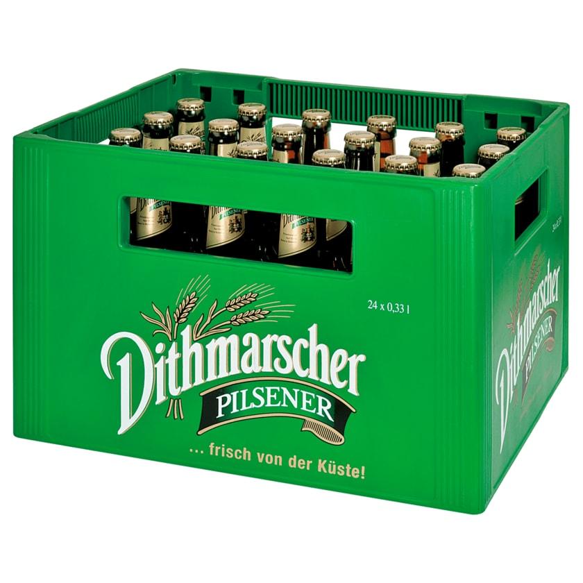 Dithmarscher Pilsener Longneck 24x0,33l